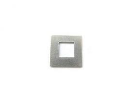 Tag Vierkant Washer aluminium 15.8mm