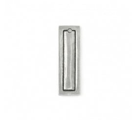 Rectangle Border Small Pewter