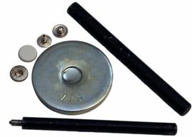 Gereedschaps setje voor drukknopen 12mm