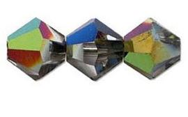 Swarovski kralen Bicone 4mm Vitrial Medium (10st.)