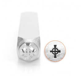 Design stempel Celtic Cross 6mm ImpressArt