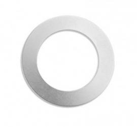Tag Donut aluminium 38mm