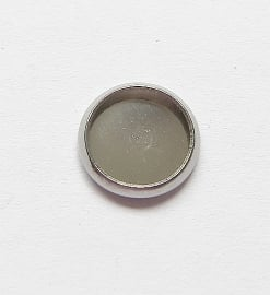 Cabochon setting rond voor 8mm cabochon (zonder oog)