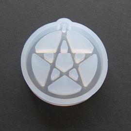Ronde Mal met Pentagram.