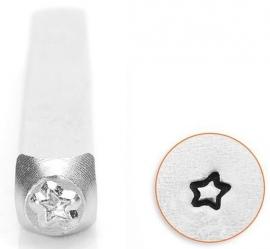 Design stempel Fun Star 3mm ImpressArt