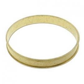 Beadsmith Messing Bangle 9,5mm channel