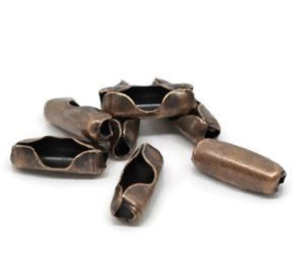 connector sluiting voor ballchain koper 2,4mm (10st.)