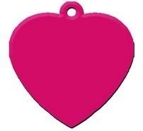 Heart Fuchsia aluminium