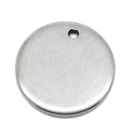 Tag Rond RVS 15mm
