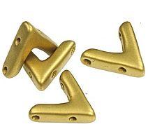AVA® Bead Metallic Olivine (10st)