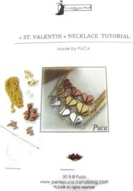 Zelfmaak pakketje St.Valentin Necklace GOUD