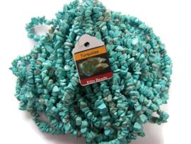 Turquoise Split per streng