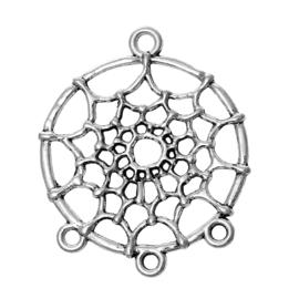 Tussenzetsel dromenvanger Antique Silver
