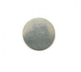 Tag rond aluminium 19mm, Premium