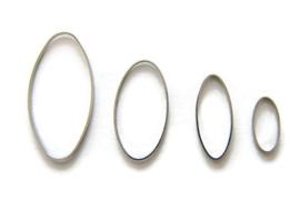 Ring OVAAL 4x2 cm