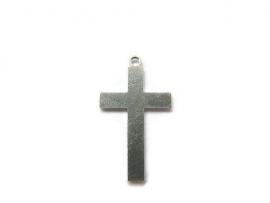 Tag Kruis aluminium 19x33mm