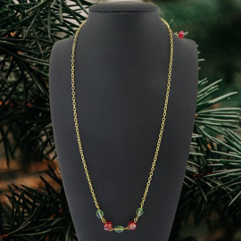 Dag 7 Materialenpakketje Kerst ketting 12 days of Christmas