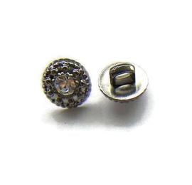 Knoop Acryl met oog 004 Rhinestone