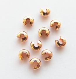 Knijpkraal verberger  Rose Gold 5mm