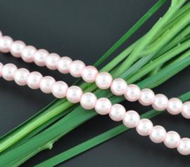 Glasparel  Light Pink 6mm (Per streng)
