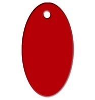 Ovaal Red aluminium