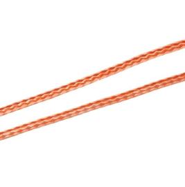 Koreaans Polyester Waxkoord Midden Oranje 1,5mm