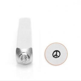 Design stempel Peace Sign 3mm ImpressArt