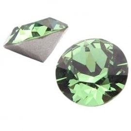 Swarovski Elements SS39 puntsteen (8mm) Erinite Green