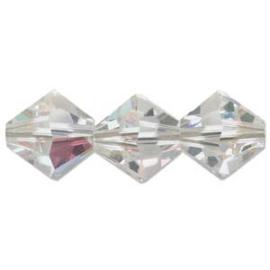 Swarovski kralen Bicone 2.5mm Crystal AB (10st.)