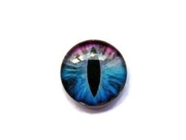 Dragon Eye 014, 25mm Glas Cabochon Rond