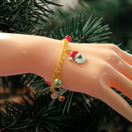 Dag 9 Materialenpakketje Kerst Bedelarmband 12 days of Christmas