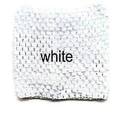 Gehaakte Top White S  (maat 50 t/m 80)