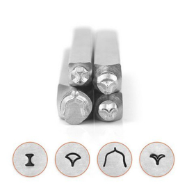 Design stempel Mandala Pack series 3 (4st) ImpressArt