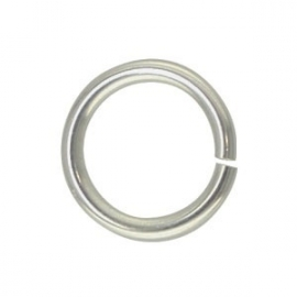 Jump ring Silver Plated 16mm (100st)