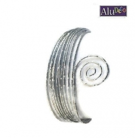 AluDeco Wire 2mm Zilver Diamond Cut (5m)