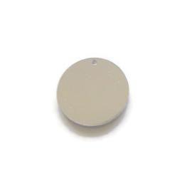 Tag rond aluminium MET GAT 19mm, Premium