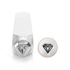 Design stempel Diamond 6mm ImpressArt