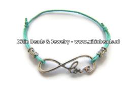 Xitin armband connector Infinity Love
