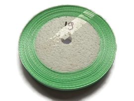 No.19 Mint Groen Satijnlint 10MM (per rol)