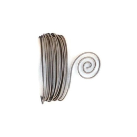 AluDeco Wire 2mm Anthracite Gray Embossed (5m)