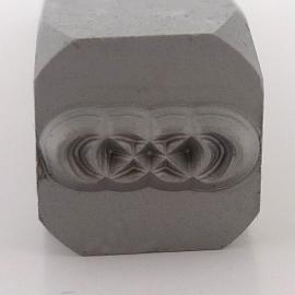 Design stempel Double Infinity 8mm UB