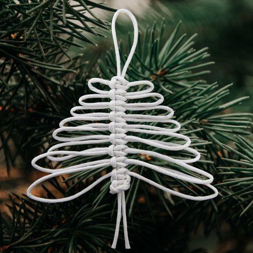 Materialenpakketje Macrame Kerstboompje
