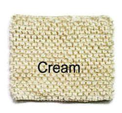 Gehaakte Top Cream S  (maat 50 t/m 80)