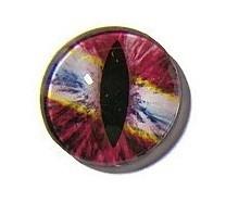 Dragon Eye 021, 25mm Glas Cabochon Rond