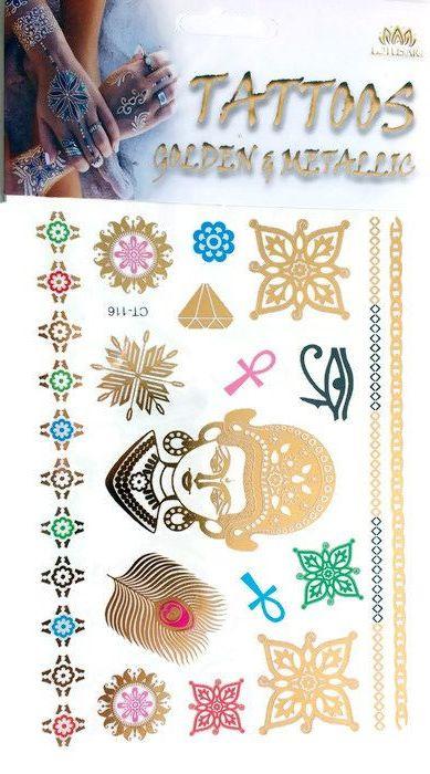 Metallic Tattoo's  CT-116