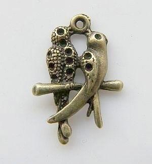 Bedel lovebirds brons