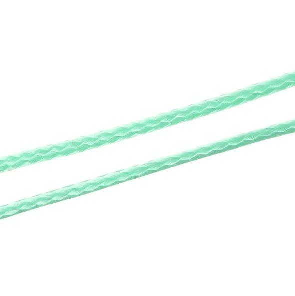 Koreaans Polyester Waxkoord Mint Groen 1mm