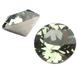Swarovski Elements SS39 puntsteen (8mm) Black Diamond