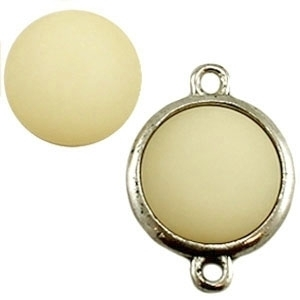 Cabochon Polaris matt 20 mm Golden shadow