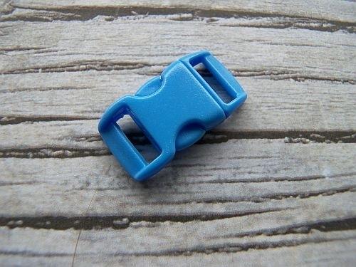 Licht Blauwe paracord gesp
